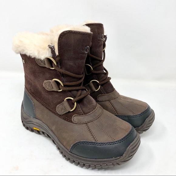 dad6b92a8a3 UGG Ostrander UggPure Snow Boots Vibram Soles
